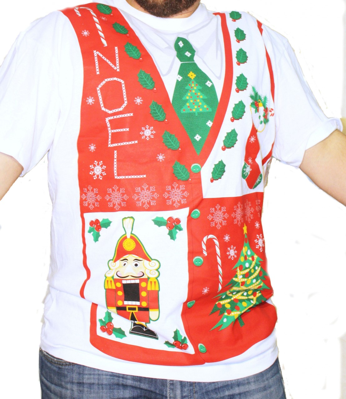 Christmas sweater t shirts